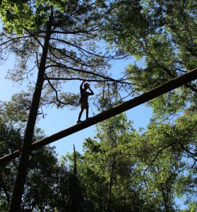 Bible Camp Ropes Course